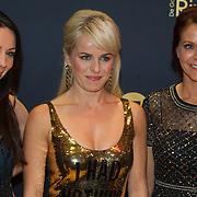 NLD/Amsterdam/20151015 - Televizier gala 2015, K3, Kristel Verbeke, Josje Huisman, Karen Damen