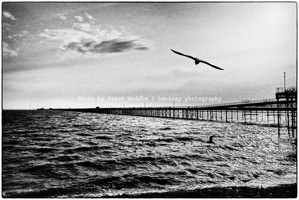 Thorpe Bay, Southend-on-Sea, Essex, England - 20 February 2021