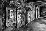 Churchyard Wall of Plaques, Edinburgh, Scotland