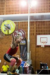 July 3, 2018 - Helsingborg/Landskrona, SVERIGE - 180703 Isak Stjernrup Öberg, Mossebergs AK, tävlar i tyngdlyftning i momentet ryck under dag 2 av SM-veckan den 3 juli 2018 i Helsingborg/Landskrona  (Credit Image: © Mathilda Ahlberg/Bildbyran via ZUMA Press)