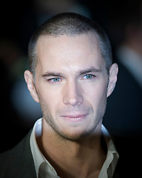 © Licensed to London News Pictures. 11/01/2012. London, UK.  James D'Arcy at the Premier of W.E. at The Odeon, Kensington High Street, London on January 11th, 2012. Madonna directed W.E. which is a drama about the relationship between Wallis Simpson and Edward VIII.  Photo credit : Ben Cawthra/LNP