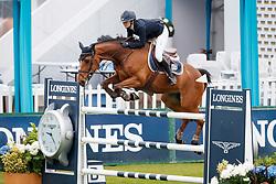 Loser Aurelia, SUI, Quinette Theod<br /> Longines Jumping International de La Baule 2017<br /> © Dirk Caremans<br /> 11/05/2017