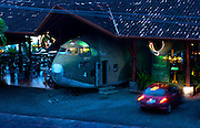 Costa Rica, Manuel Antonio, Quepos, El Avion, Airplane Restaurant, USA Contra Plane From Nicaragua