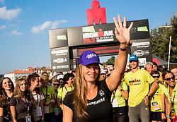 Tina Maze at Ironman 70.3 Slovenian Istra 2018, on September 23, 2018 in Koper / Capodistria, Slovenia. Photo by Vid Ponikvar / Sportida