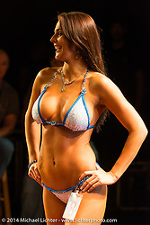 Swimsuit competition at Destination Daytona during Biketoberfest, Ormond Beach, FL, October 18, 2014, photographed by Michael Lichter. ©2014 Michael Lichter