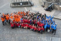 .The Miss World participants visit Edinburgh Castle..MISS WORLD 2011 VISITS SCOTLAND..Pic © Michael Schofield.