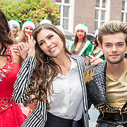 NLD/Amsterdam/20170925 - Presentatie A Christmas Carol 2017, Yolanthe Cabau van Kasbergen, Glennis Grace en Buddy Vedder