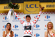 Podium,Toms Skujins (LAT - Trek - Segafredo) Polka dots jersey, during the 105th Tour de France 2018, Stage 8, Dreux - Amiens Metropole (181km) on July 14th, 2018 - Photo Luca Bettini / BettiniPhoto / ProSportsImages / DPPI