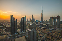 Burj Khalifa - view from Shangri-la hotel