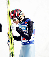 Hopp , FIS World Cup Ski Jumping  , Holmenkollen 09. Mars 2008 , Bjørn Einar Romøren NOR , Foto: Thomas Andersen , Digitalsport
