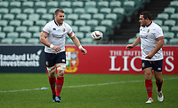 Rugby Union - 2017 British & Irish Lions Tour of New Zealand - Training Session<br /> <br /> Sean O'Brien and Jamie George of The British and Irish Lions training at QBE Stadium, Auckland.<br /> <br /> COLORSPORT/LYNNE CAMERON