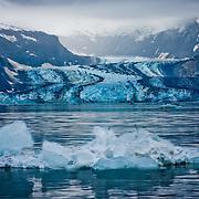 North America, United States, US, Northwest, Pacific Northwest, West, Alaska, Glacier Bay, Glacier Bay National Park, Glacier Bay NP. Johns Hopkins Glacier in Glacier Bay National Park and Preserve, Alaska.