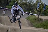 #696 (WHYTE Tre) GBR at the 2016 UCI BMX Supercross World Cup in Papendal, The Netherlands.