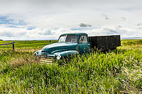 Prairie landscapes on the farmland in rural Alberta.<br /> <br /> ©2016, Sean Phillips<br /> http://www.RiverwoodPhotography.com