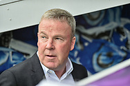 Portsmouth Manager, Kenny Jackett during the EFL Sky Bet League 1 match between Portsmouth and Coventry City at Fratton Park, Portsmouth, England on 22 April 2019.