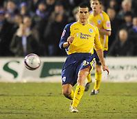 Bruno Berner (Leicester) Hartlepool United vs Leicester City at Victoria Park Hartlepool Football League one<br /> 17/02/2009. Credit Colorsport / Darren Blackman