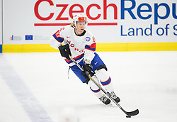 Mathis Olimb of Norway during Ice Hockey match between Slovakia and Norway at Day 6 in Group B of 2015 IIHF World Championship, on May 6, 2015 in CEZ Arena, Ostrava, Czech Republic. Photo by Vid Ponikvar / Sportida