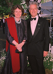 LORD & LADY KENILWORTH at a reception in London on 6th June 1998.MIB 88
