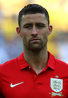 Football Fifa Brazil 2014 World Cup Matchs-Friendly / <br /> Brazil vs England 2-2  ( Jornalista Mario Filho - Maracana Stadium-Rio de Janeiro, Brazil )<br /> Gary Cahill of England , Prior the Friendly match between Brazil and England