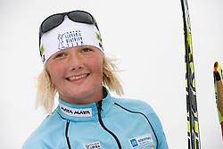 Lili Drcar of Slovenian Women Biathlon Team at Dachstein glacier before new season 2008/2009, Austria, on October 30, 2008.  (Photo by Vid Ponikvar / Sportida)
