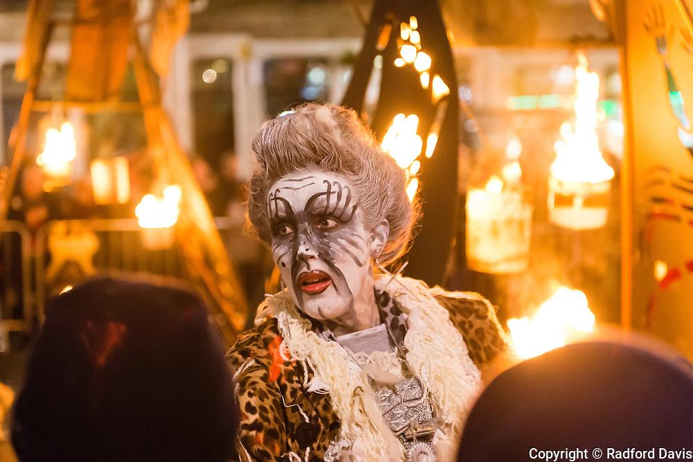 Samhuinn fire festival, Edinburgh, Scotland