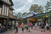 Europa-Park is the largest theme park in Germany. is located at Rust between Freiburg and Strasbourg, France.