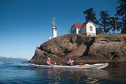 Paddling Around Turn Point, Stuart Island, Washington, US