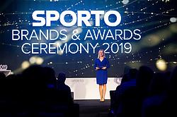 Sanja Modric at Sporto brands and awards during Sports marketing and sponsorship conference Sporto 2019, on November 21, 2019 in Hotel Slovenija, Congress centre, Portoroz / Portorose, Slovenia. Photo by Vid Ponikvar/ Sportida
