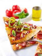 Pepperoni pizzas slice photos. Funky Stock pizzas photos