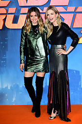 Ana de Armas (left) and Sylvia Hoeks attending the Blade Runner 2049 photocall at the Corinthia Hotel, London.