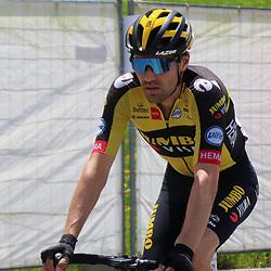 ANDERMATT (SUI) JUNE 13 <br /> Tom Dumoulin at Tour de Suisse 2021  before de start of a stage (Photo: Sportfoto/Orange Pictures)