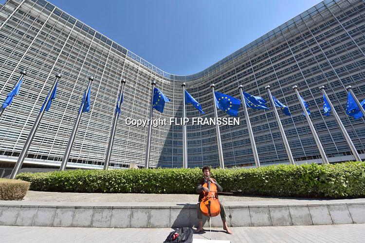 Belgie, Brussel, 14-5-2019Het Berlaymont gebouw, zetel van de Europese Commissie. Foto: Flip Franssen