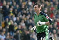 Photo: Ashley Pickering.<br />Norwich City v Coventry City. Coca Cola Championship. 24/02/2007.<br />Coventry goalie Andy Marshall