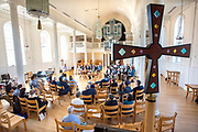 © Photo by Mara Lavitt<br /> October 15, 2019<br /> Marquand Chapel, Yale Divinity School, New Haven, CT<br /> <br /> Andover Newton Seminary at Yale Divinity School Alumni/ae Convocation 2019.