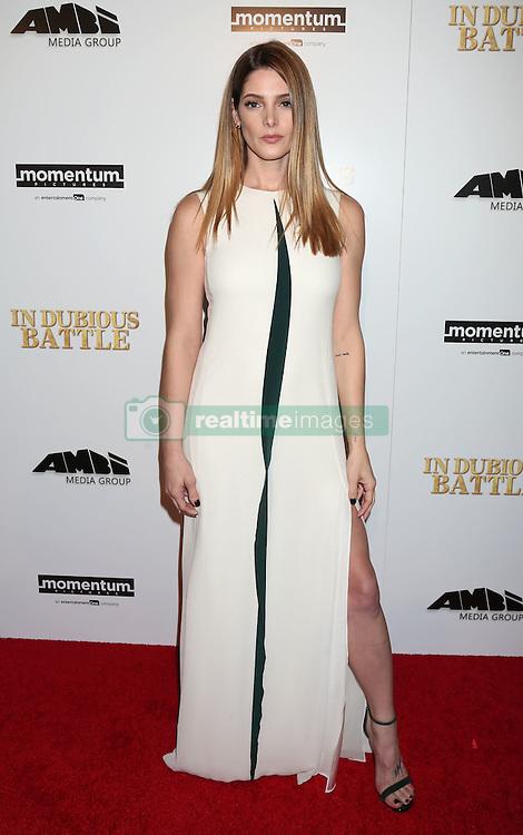 Ashley Greene, In Dubious Battle, film premiere, Arclight Hollywood Cinemas (Hollywood, California)