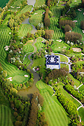 Nederland, Zeeland, Gemeente Sluis, 09-05-2013; Golf en country club Oostburg, 18 holes-golfbaan gelegen op Domein van De Brugse Vaart.<br /> Golf course (18 holes) in Zeeuws-Vlaanderen,  the south-west part of the province of Zeeland. <br /> luchtfoto (toeslag op standard tarieven);<br /> aerial photo (additional fee required);<br /> copyright foto/photo Siebe Swart.