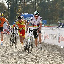 07-11-2020: Wielrennen: EK Veldrijden: Rosmalen<br /> Ryan Kamp U23 world champion takes the European cyclocross title in Rosmalen