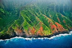 Na Pali coast, Kauai, Hawaii, Pacific Ocean