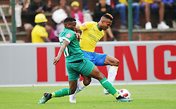 16092018(Durban) Gumede Mbongeni holding a ball at a match were AmaZulu FC targeted an upset win over Mamelodi Sundowns when the teams meet at King Zwelithini Stadium on 16 September 2018<br /> Picture: Motshwrai Mofokeng/African News Agency (ANA)