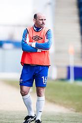 Cowdenbeath's manager Colin Cameron..Falkirk 4 v 0 Cowdenbeath, 6/4/2013..©Michael Schofield..