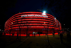 General View outside the stadium - Rogan Thomson/JMP - 22/02/2017 - FOOTBALL - Estadio Ramon Sanchez Pizjuan - Seville, Spain - Sevilla FC v Leicester City - UEFA Champions League Round of 16, 1st Leg.