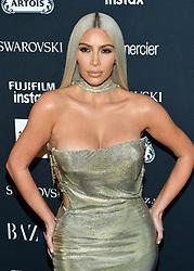 Kim Kardashian attends the Harper's Bazaar Icons by Carine Roitfeld celebration at The Plaza Hotel in New York, NY on September 8, 2017.  (Photo by Stephen Smith/SIPA USA)