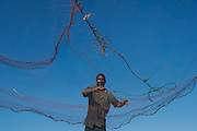 Castnet Fisherman<br /> Georgetown<br /> GUYANA<br /> South America<br /> Eric Jones