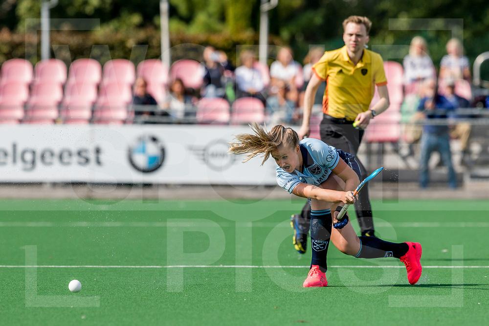 LAREN -  Hockey Hoofdklasse Dames: Laren v Amsterdam, seizoen 2020-2021.<br /> Foto: Eliza Vermeulen (Laren) <br /> WORLDSPORTPICS COPYRIGHT Bert van der Toorn