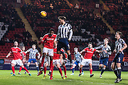 {persons}, M9	Millwall forward Lee Gregory (9)  during the EFL Sky Bet League 1 match between Charlton Athletic and Millwall at The Valley, London, England on 14 January 2017. Photo by Sebastian Frej.