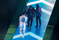 Real Madrid's player Alvaro Arbeloa during the celebration of the victory of the Real Madrid Champions League at Santiago Bernabeu in Madrid. May 29. 2016. (ALTERPHOTOS/Borja B.Hojas)