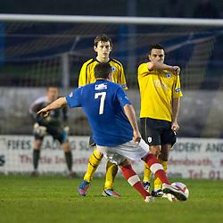 Cowdenbeath 4 v 1 Falkirk, 9/2/2013.