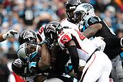 December 24, 2016: Carolina Panthers vs Atlanta Falcons. Jonathan Stewart