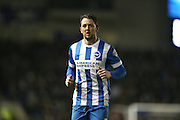 Brighton central midfielder, Dale Stephens (6) during the Sky Bet Championship match between Brighton and Hove Albion and Reading at the American Express Community Stadium, Brighton and Hove, England on 15 March 2016.