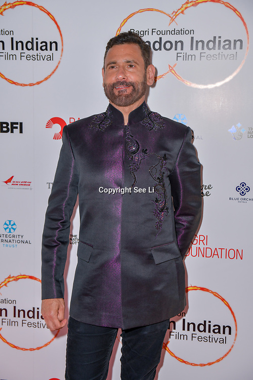 Cary Sawhney arrives at London Indian Film Festival world premiere of Anubhav Sinha's 'Article 15' at Picturehouse Central, on 20 June 2019, London , UK.